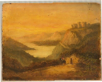 Painting by Thomas Kirkman dated 1884